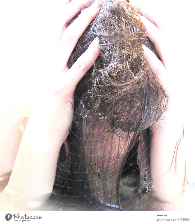 bathe Bathtub Distress Hand Swimming & Bathing Water Ruffled