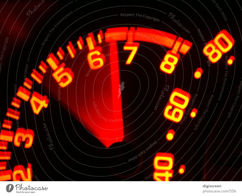 Transport Speedometer - a Royalty Free Stock Photo from
