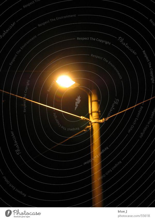 Light in the night Lamp Dark Night Lantern Bright straler Light (Natural Phenomenon) Cable