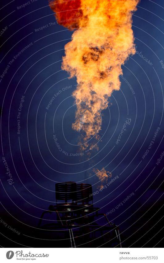 fire Blaze Burn balloon firing Hot Air Balloon