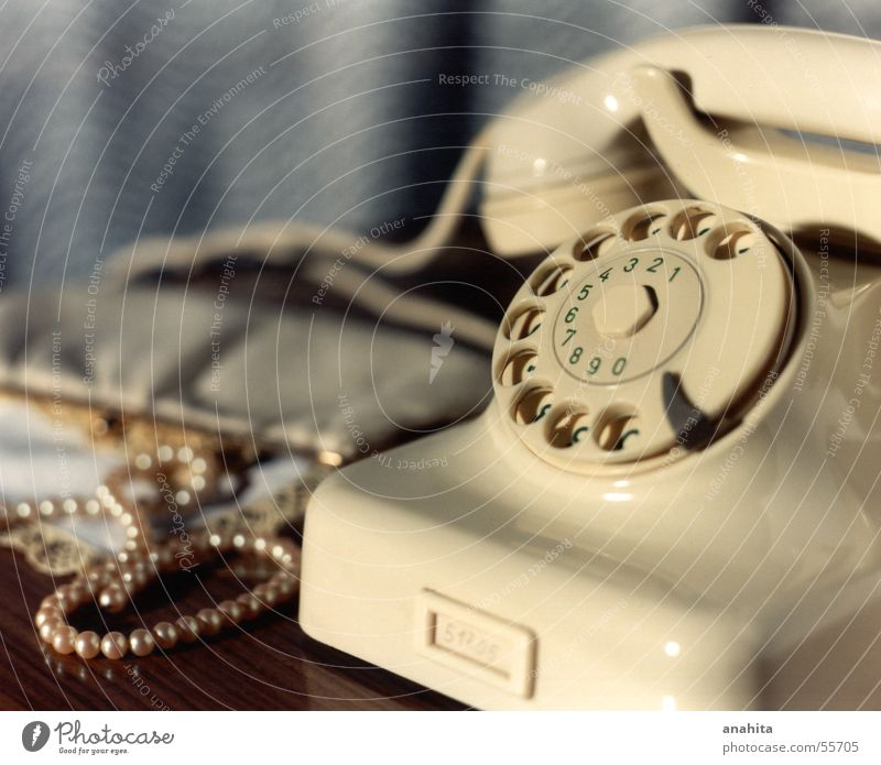 Telephone Nostalgia Sixties Former Telecommunications