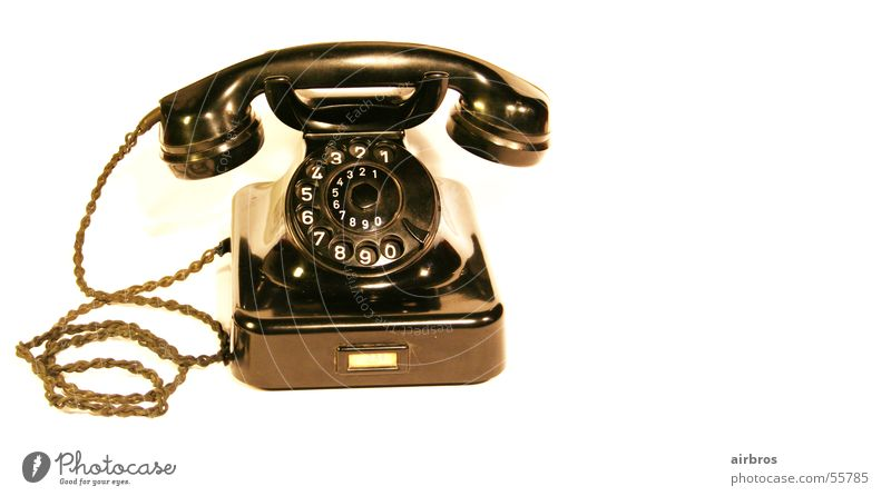 Old Design Telephone Classic The fifties Antiquarian