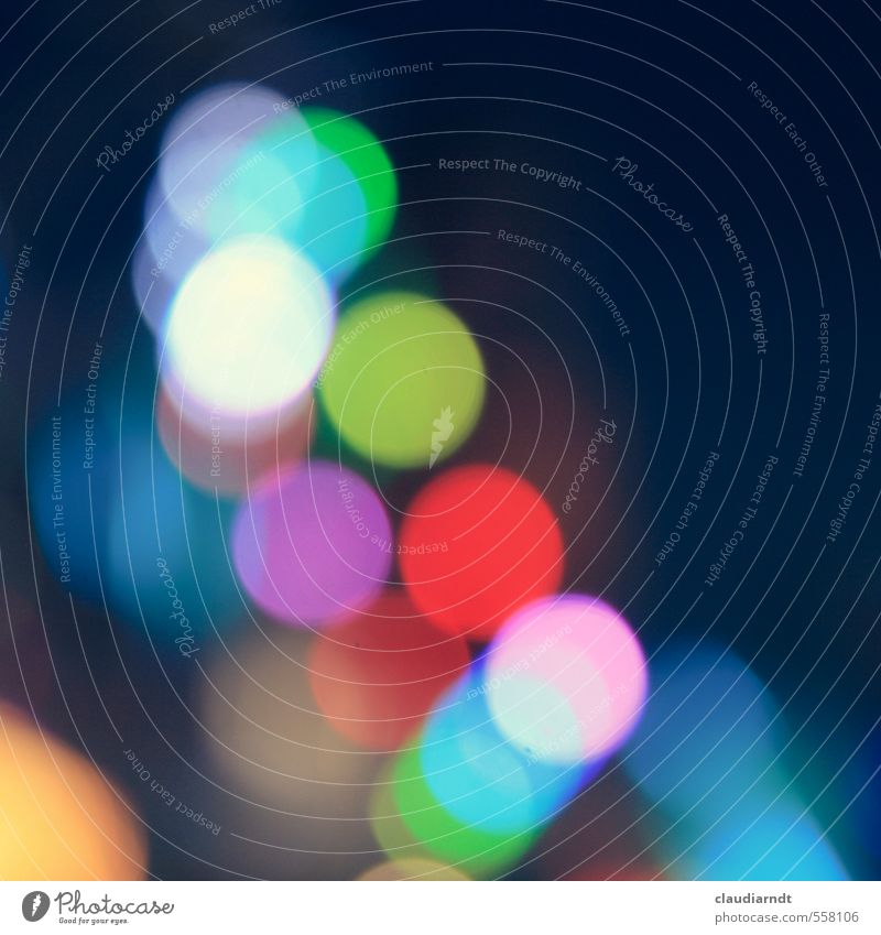 Blue Green Red Background picture Illuminate Circle Round Violet Fairs & Carnivals Night life Point of light