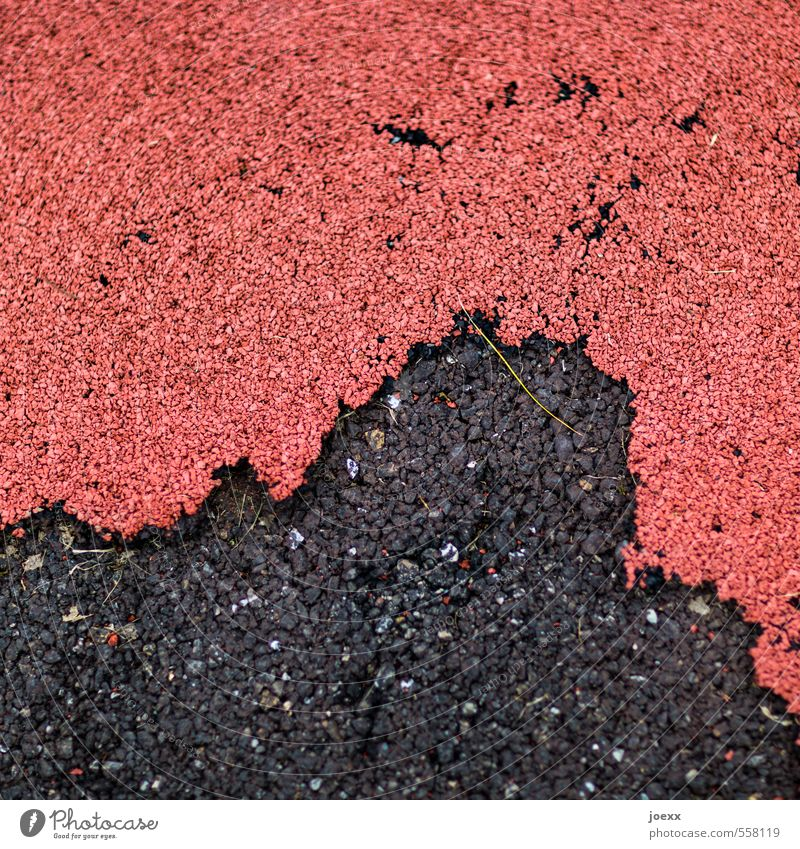 coalition Street Old Under Town Red Black Protection Transience Lanes & trails Attachment rubber coating Asphalt Colour photo Subdued colour Exterior shot