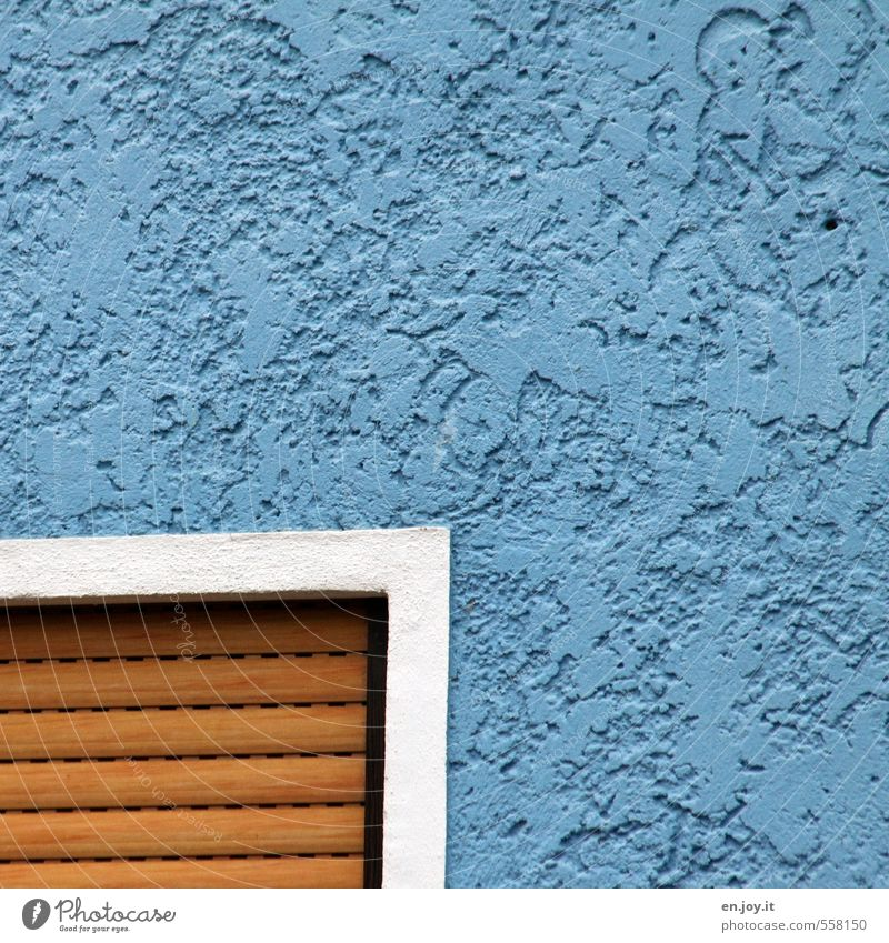 Blue White House (Residential Structure) Window Wall (building) Wall (barrier) Brown Facade Living or residing Safety Protection Watchfulness Sharp-edged