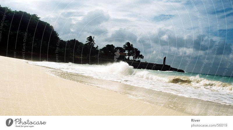 beach Ocean Waves white sandy beach
