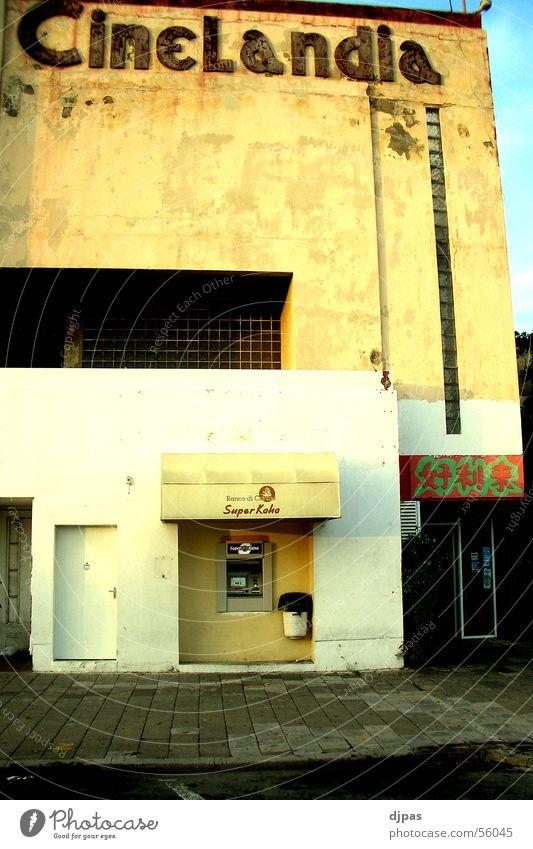 Building Facade Cinema Vending machine Curaçao Teller machine