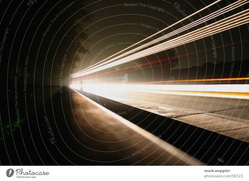 fast Highway Night Speed