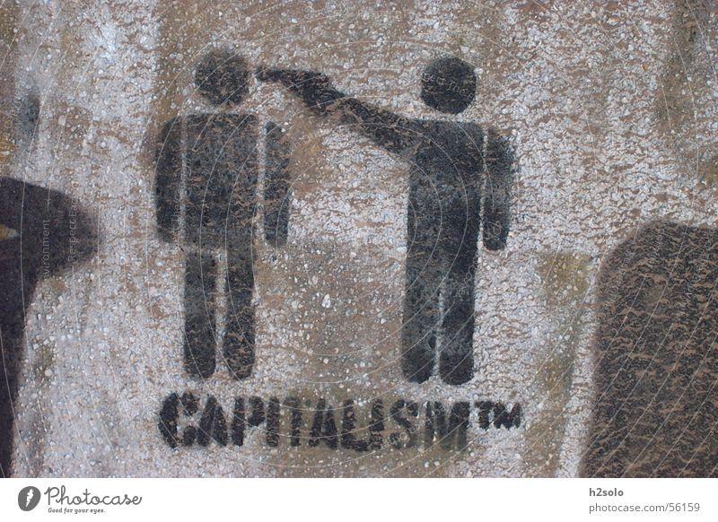 Wall (barrier) Graffiti Capitalism