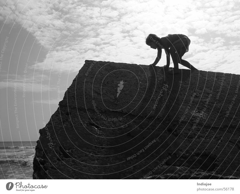 No Fear climb child