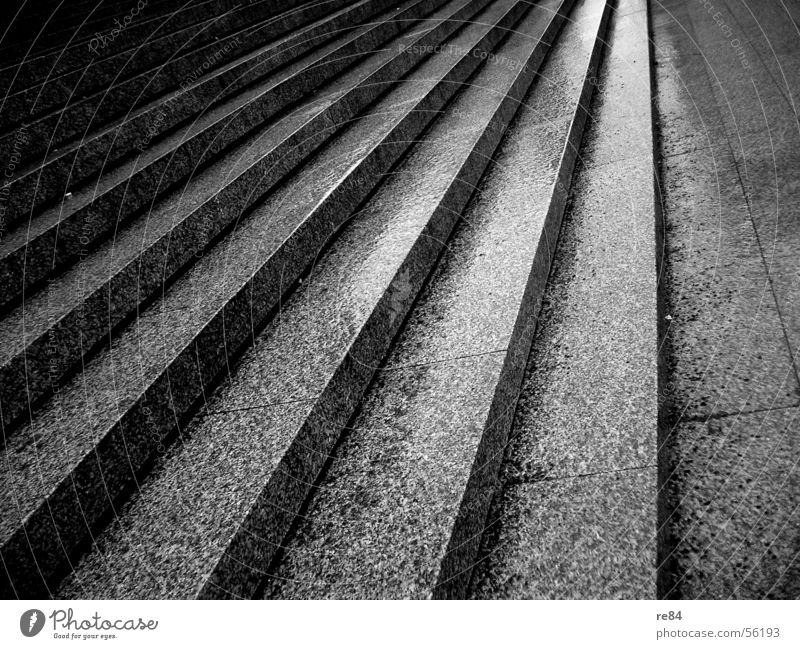 steps to dawn Palett Black White Gray Cologne Granite Places Dome Stairs Shadow Escape Lanes & trails Upward Downward Stride