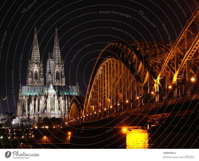 Bridge Cologne Church Dome
