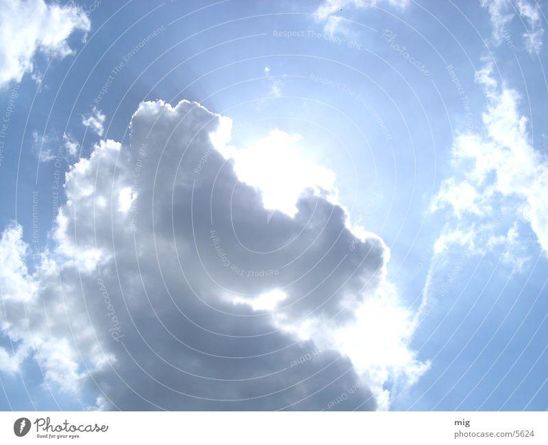 clouds Sun Blue Sky