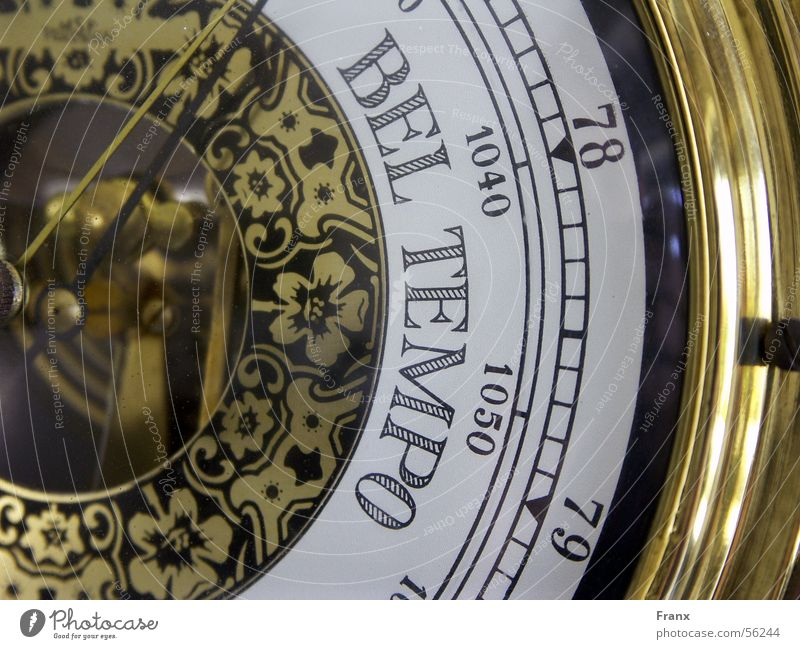 Sun Rain Weather Gold Speed Ancient Display Predict Preview Barometer
