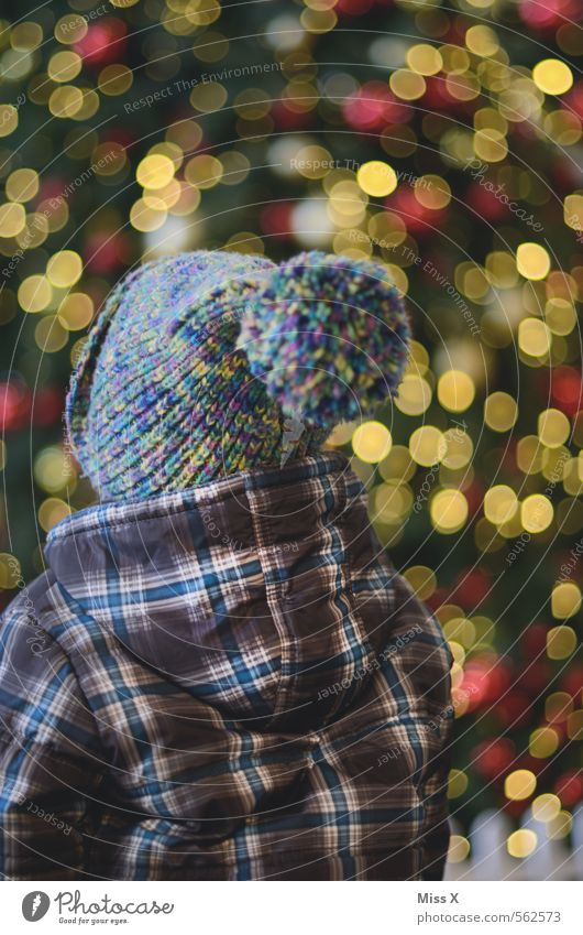 amazement Feasts & Celebrations Christmas & Advent Human being Masculine Feminine Child Toddler 1 1 - 3 years 3 - 8 years Infancy Cap Glittering Illuminate