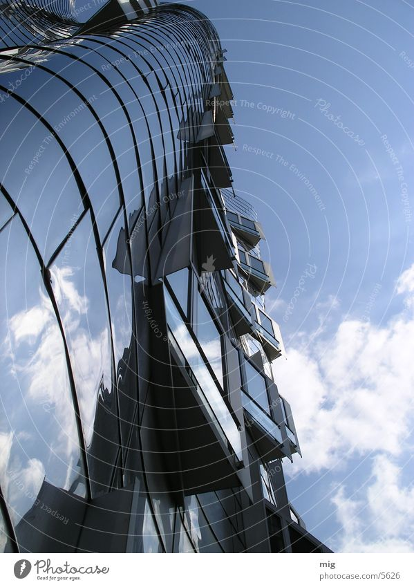 matter of opinion Clouds House (Residential Structure) Reflection Aluminium Architecture Duesseldorf media harbour
