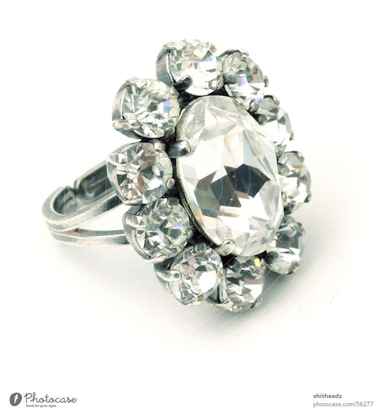 Stone Precious stone Glittering Circle Kitsch Jewellery Diamond