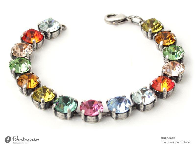 wristband Bracelet Glittering Jewellery Diamond Kitsch Stone