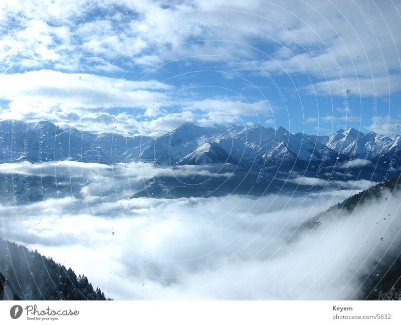 mountainous Winter Winter vacation Mountain Snow Valley