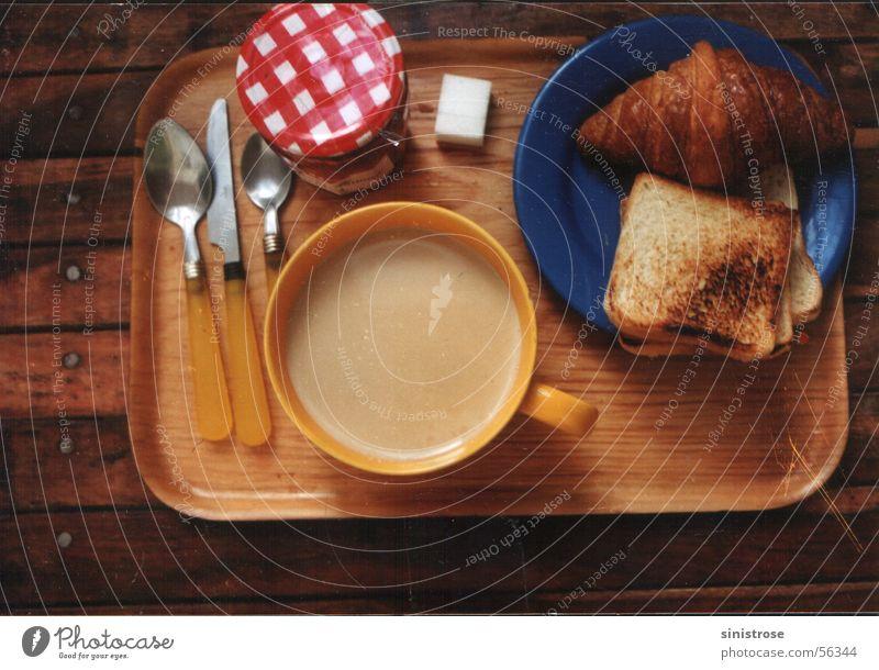 Bread Coffee Café Breakfast Toast Croissant Café au lait
