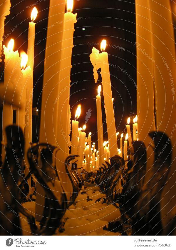 Amen! Candle Wax Dark Candle holder Light Dim Holy Prayer Romance Banquet Hot Ancient Pillar Religion and faith candle wax