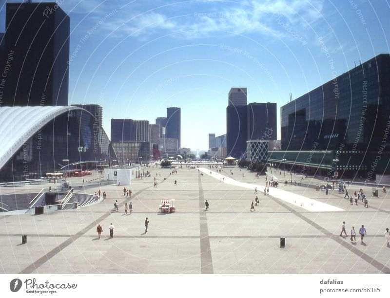 La Defense, Paris High-rise Places Modern France La Défense Colour photo Exterior shot Day Panorama (View) Architecture