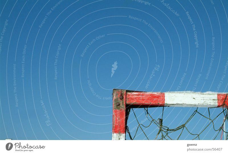 Sky Sun Blue Playing Soccer Lighting Corner Ball Net Gate Wooden board Pole Goal World Cup Shoot World champion