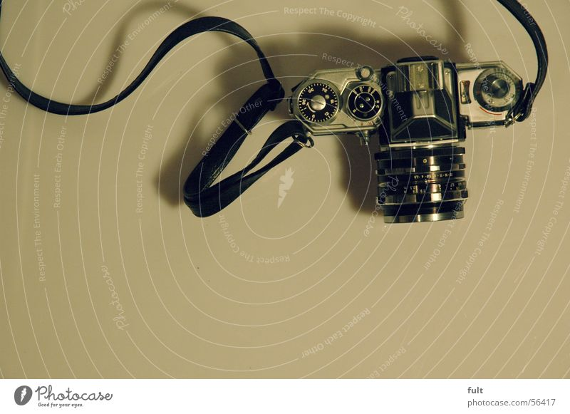 Style Metal Camera Analog Old fashioned Solid