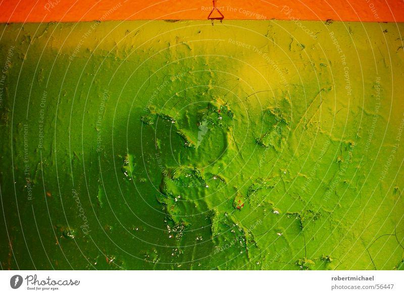Green Red Yellow Colour Lamp Dark Wall (building) Wood Line Graffiti Moody Bright Art Flat (apartment) Wet Fresh