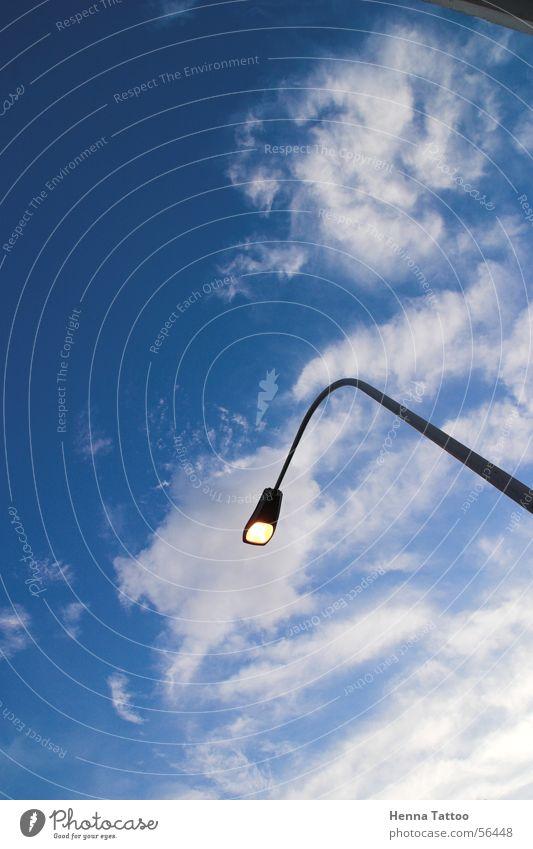 Farola Clouds Lantern Street lighting Light Sky