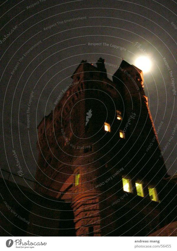 Dark Window Fear Tall Might Dangerous Tower Creepy Moon Fantasy literature