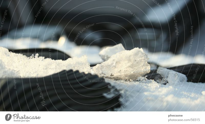 White Winter Black Cold Snow Ice Roof Express train Roofing tile
