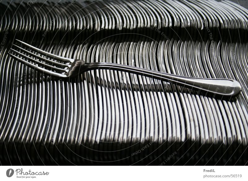 Kitchen Silver Cutlery Fork