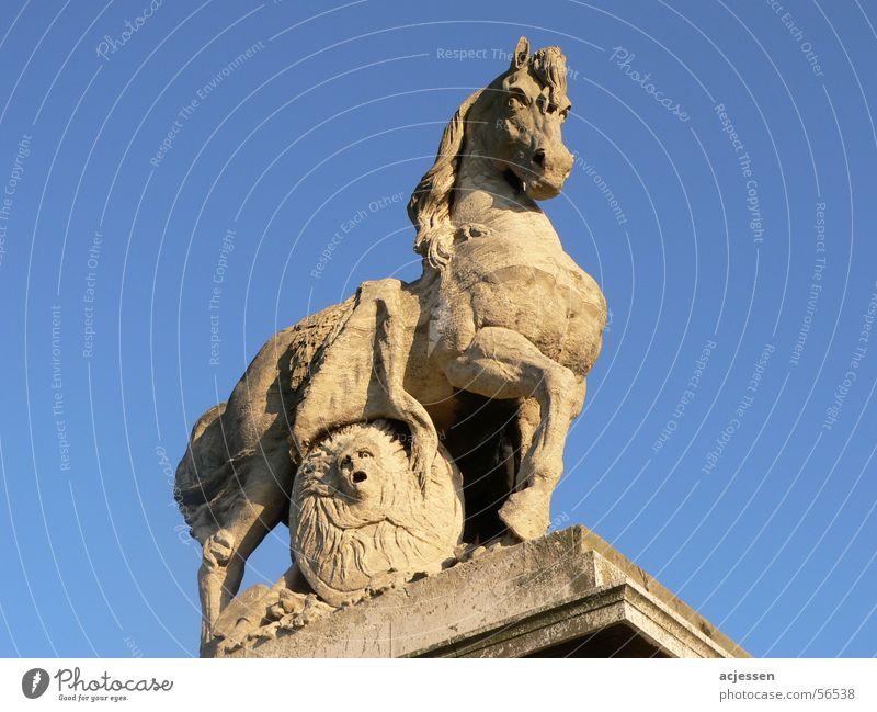 Stone Fury Horse Paris Statue stone sky sky