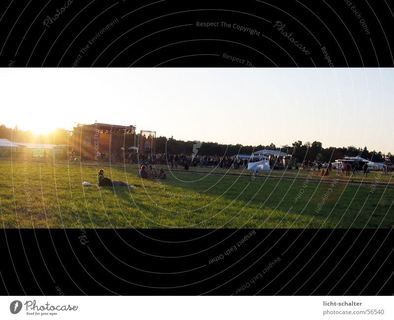 Sky Sun Music Lawn Concert Stage Freak Music festival
