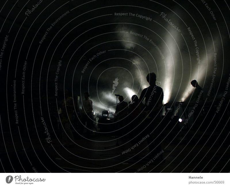 ambience Concert Dark Light Shows Fog Moody Beam of light String