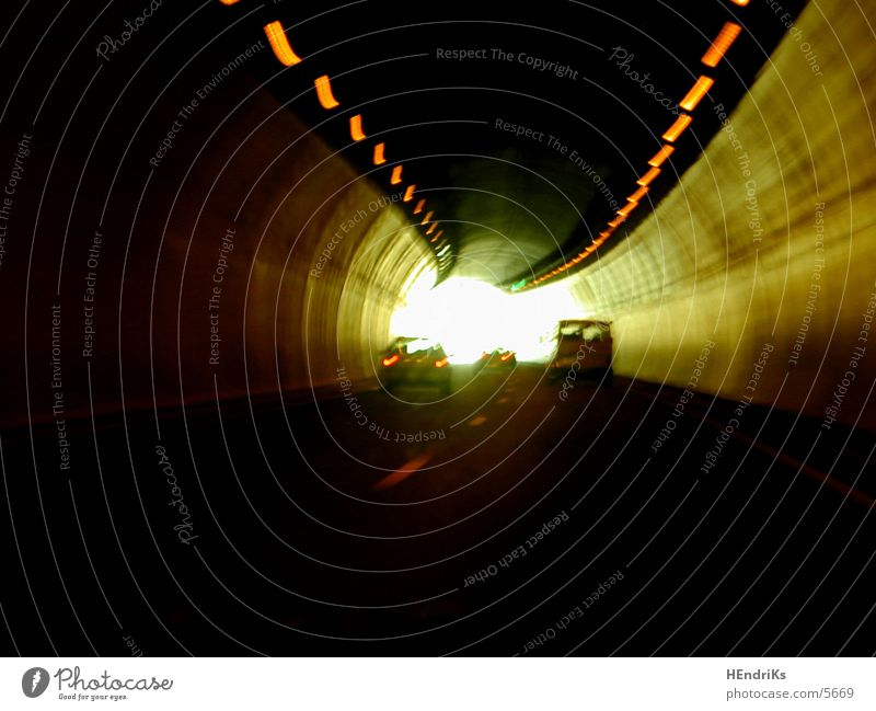 Street Car Lighting Tunnel