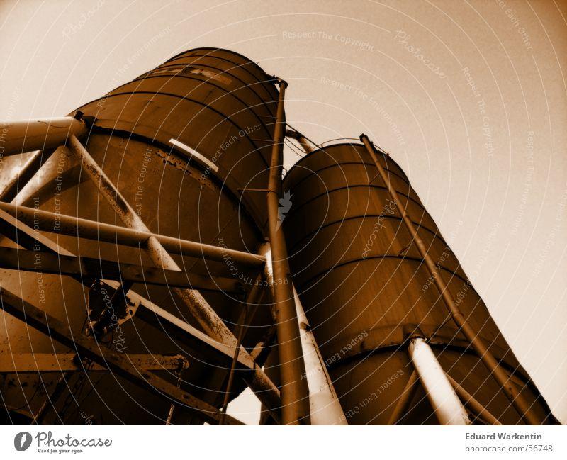 Orange Industrial Photography Steel Rust Iron Silo Keep Industrial district