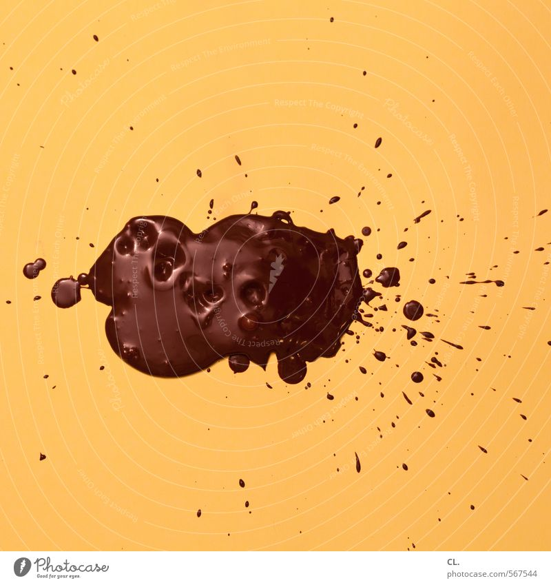 studio brown Food Dessert Candy Chocolate Nutrition Eating To enjoy Delicious Sweet Brown Yellow Joy Esthetic Movement Complex Creativity