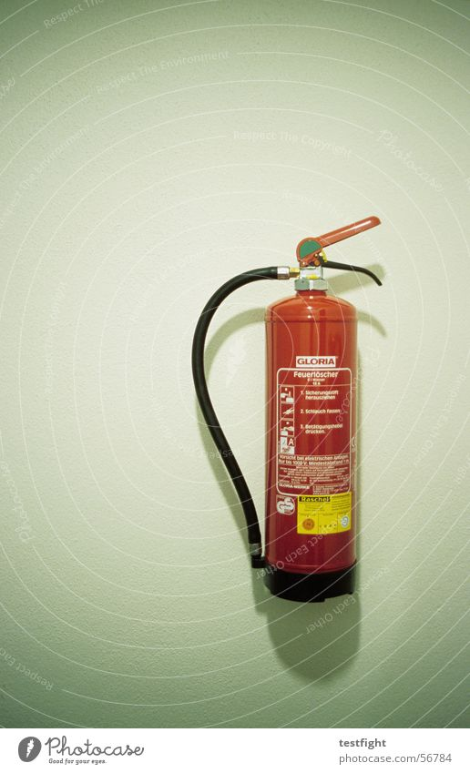 fire extinguishers Extinguisher Erase Red Wall (building) Green Blaze Foam Regulation Alarm Rescue Medic extincteur Fire department Protection Water