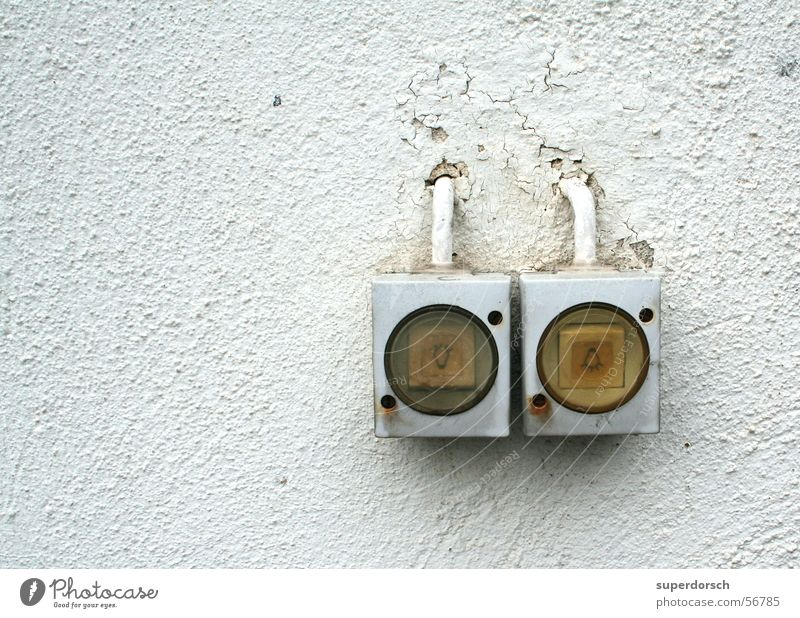 let there be light Switch Light Wall (building) Wall (barrier) Bright Crack & Rip & Tear