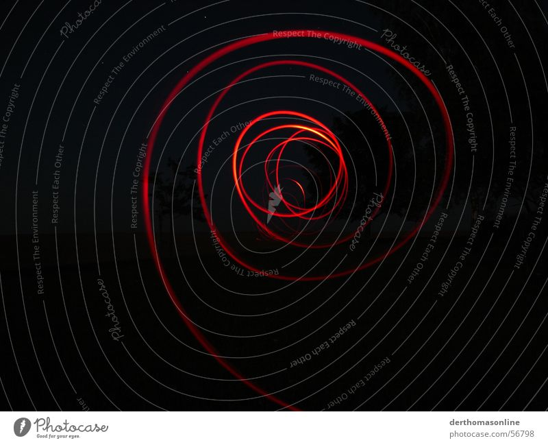 Red Black Dark Movement Lighting Fear Speed Circle Action Electricity Stripe Direction Dynamics Pull Desire