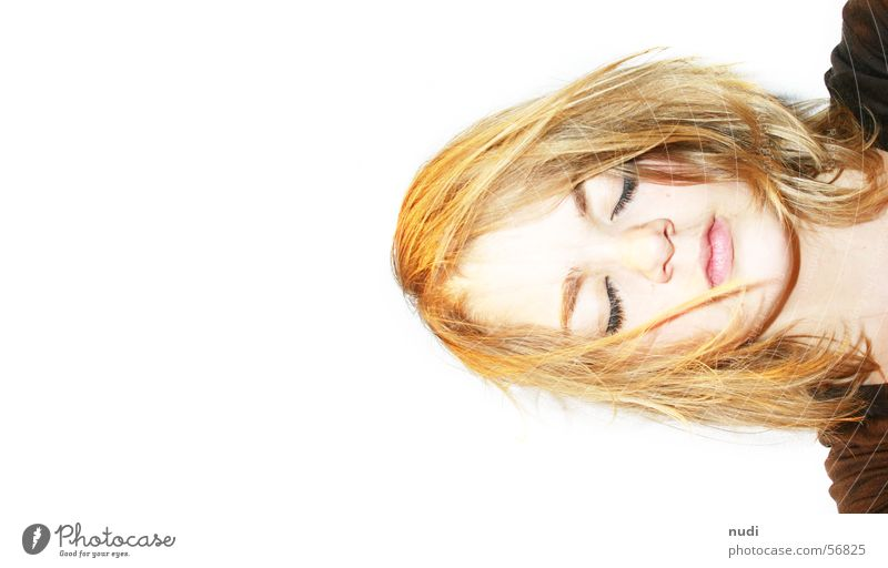 Woman Face Eyes Hair and hairstyles Head Mouth Nose Crazy Sleep Closed Chaos