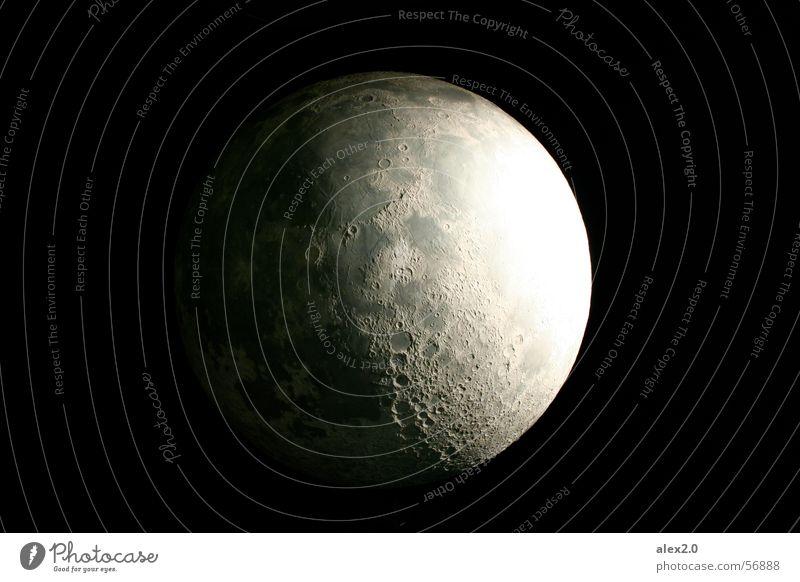 Black Dark Ball Round Sphere Universe Moon Planet Astronautics