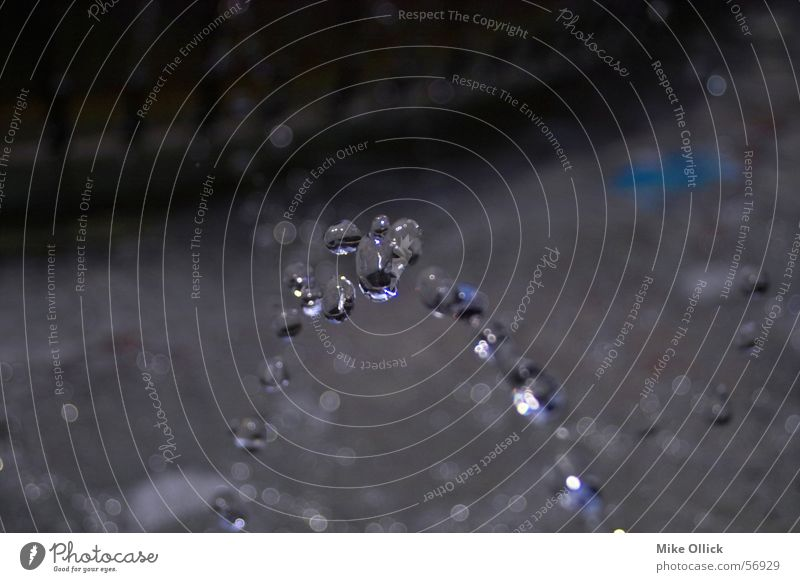 Nature Water Blue Cold Stone Ice Walking Drops of water Wet Fresh Pure Clarity Radiation Flow Horizontal Jet of water