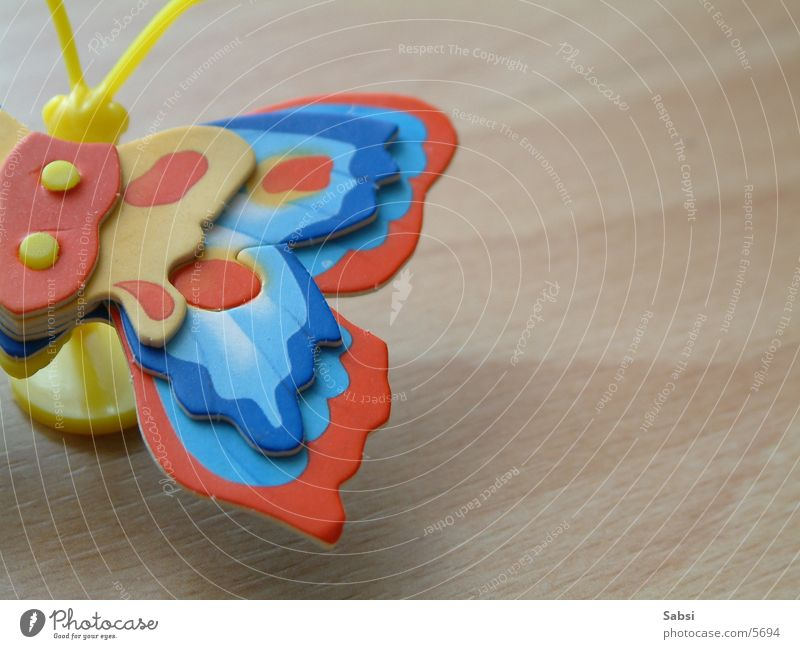 butterfly Butterfly Wood Multicoloured Toys
