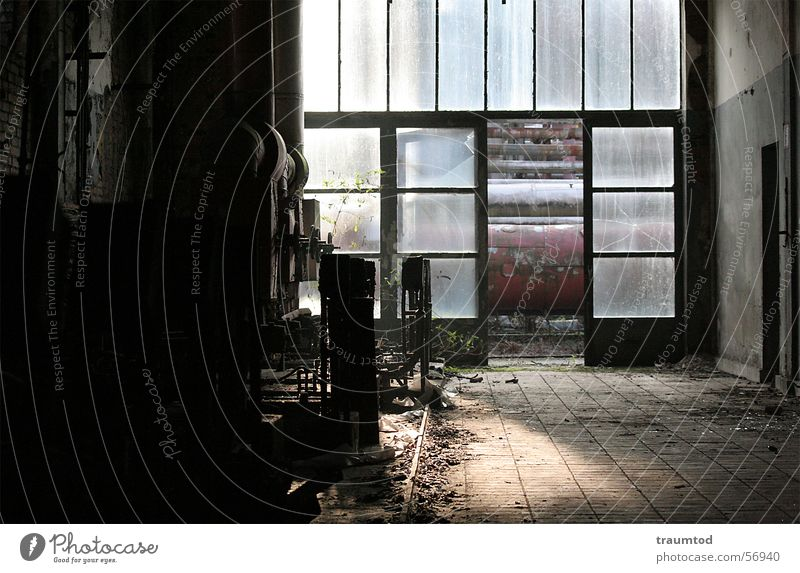 Old Nutrition Dark Work and employment Room Dirty Industrial Photography Factory Floor covering Tile Derelict Machinery Destruction Pot Working man The Ruhr