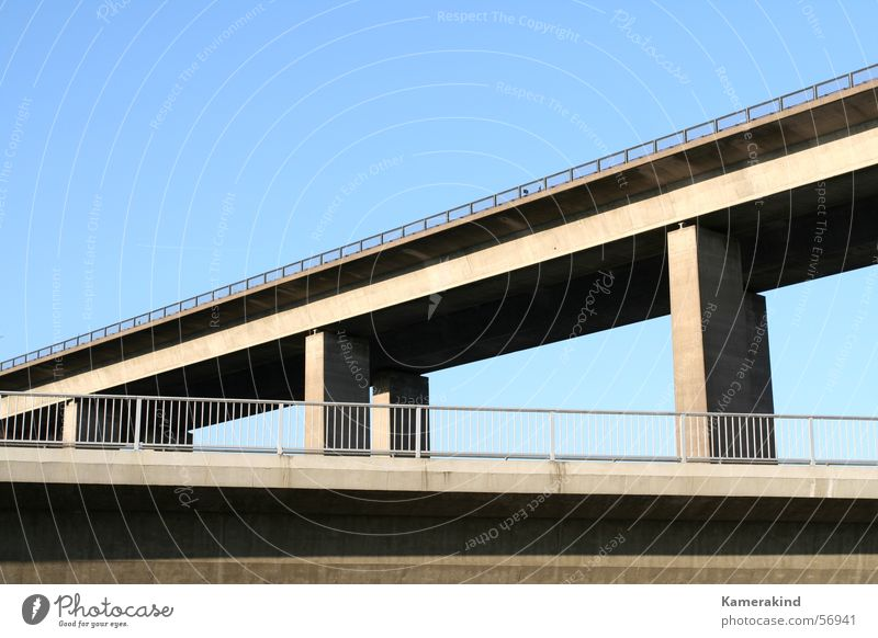 under the bridge Concrete Road construction Highway Bridge bridges Street streets motorway bridge Architecture