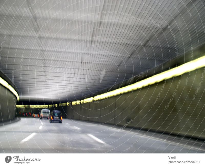 Street Berlin Car Transport Speed Trip Driving Tunnel Dynamics Motoring In transit