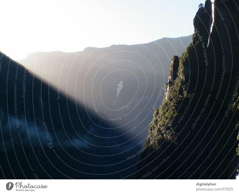 Sun Mountain Sunrise Sound Fjord New Zealand Milford Sound